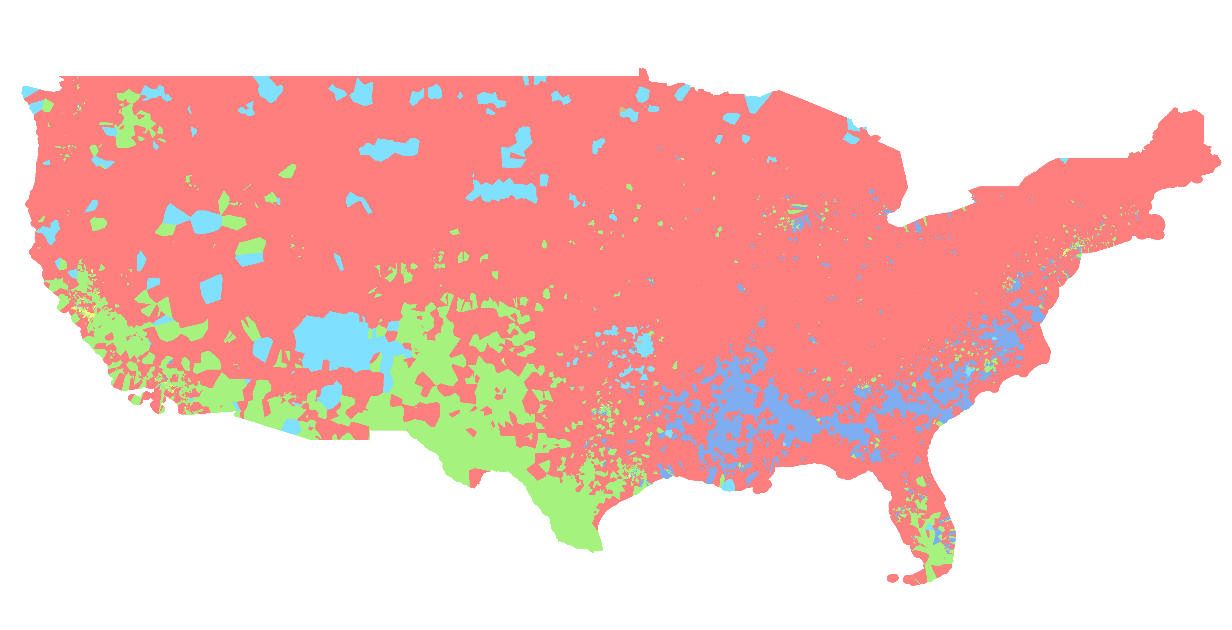 US Public School Race And Ethnicity Heat Map - Us map by ethnicity
